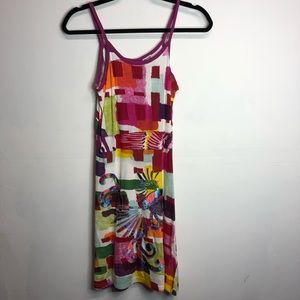 Desigual NWT tank dress embroidered